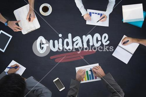 Guidance against blackboard
