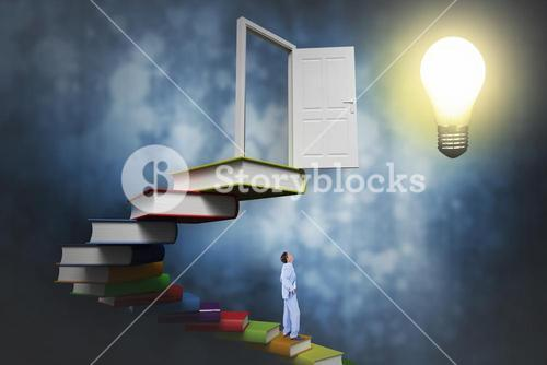 Composite image of  standing businessman