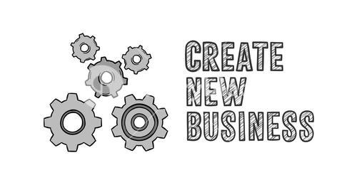 Create new business concept vector