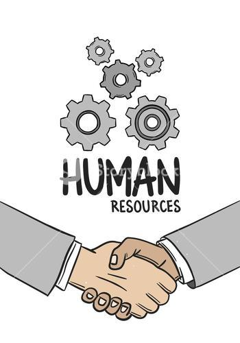 Human resources concept vector