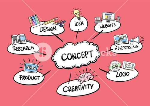 Product launch concept vector