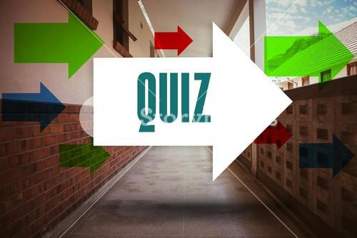 Quiz against empty hallway