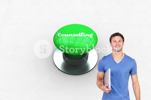 Counselling against digitally generated green push button