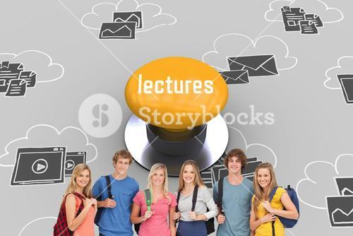 Lectures against yellow push button