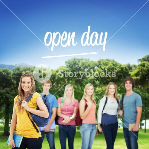 Open day against park