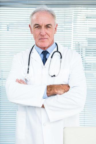 Portrait of doctor with stethoscope