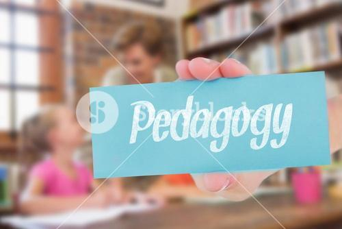 Pedagogy against teacher helping pupils in library