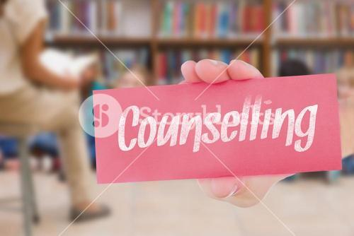 Counselling against cute pupils and teacher having class in library