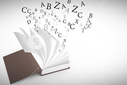 Composite image of letters