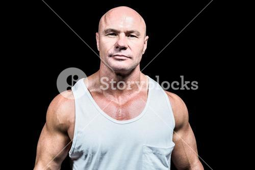 Portrait of confident man in vest