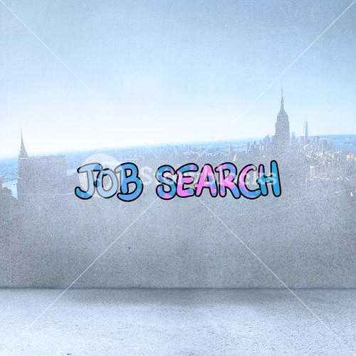 Composite image of job search