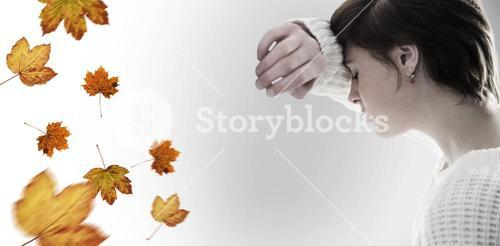 Composite image of sad pretty brunette leaning against wall