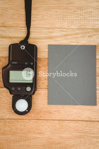 View of a photo flash