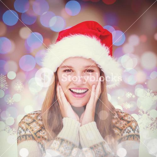 Composite image of happy hipster smiling at camera