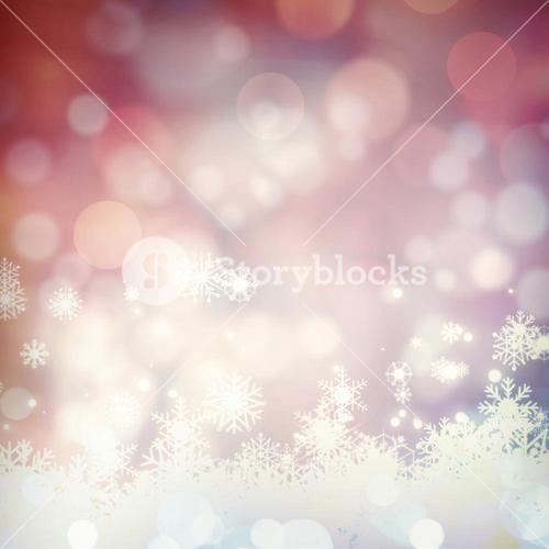 Glowing christmas background