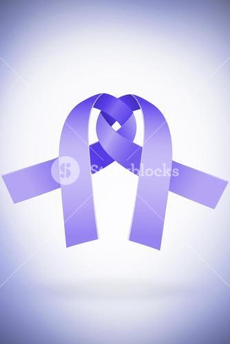 Composite image of domestic violence awareness graphic