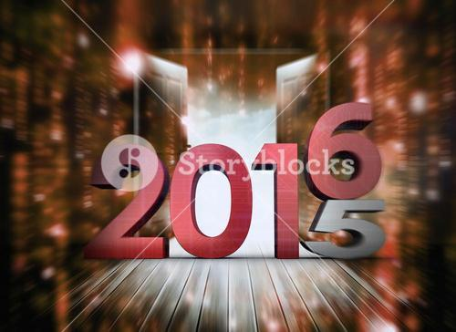 Composite image of 2015 graphic