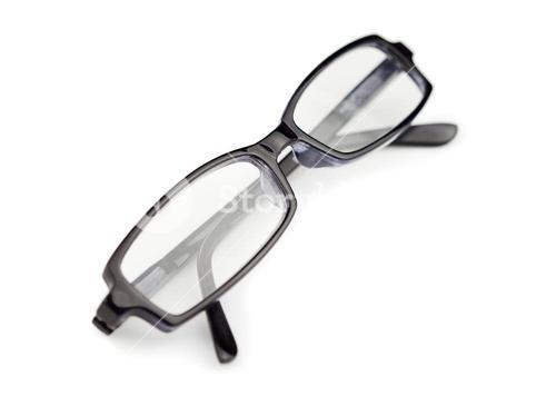 Pair of glasses isolated