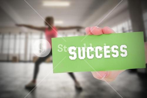 Success against people background