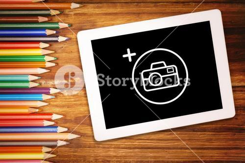 Composite image of photography apps