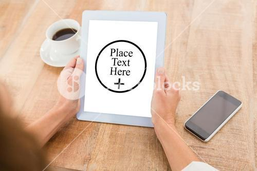 Composite image of place text here