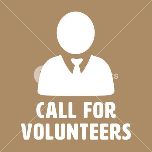 Composite image of call for volunteers