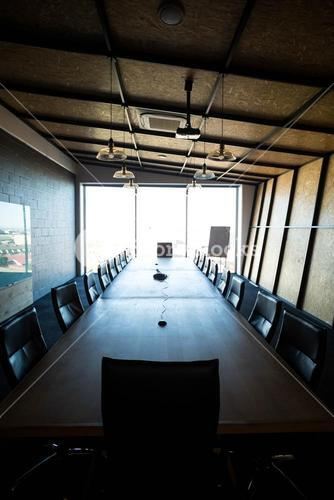 An empty modern conference room in office