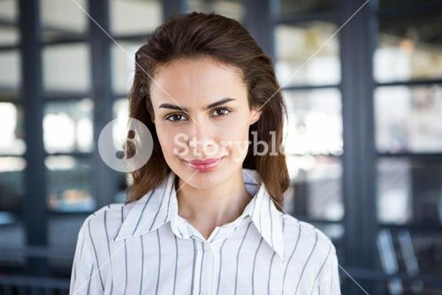 Young businesswoman in offic
