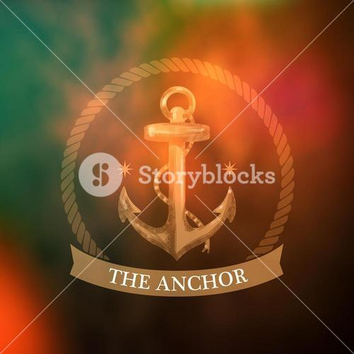 Composite image of the anchor icon