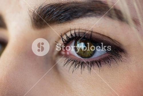 Close-up of a womans eye