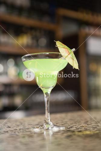 View of a cocktail