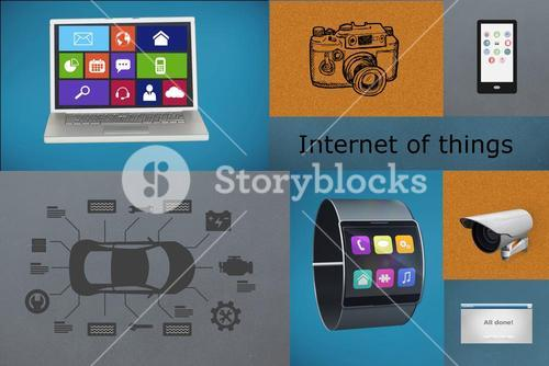 Collage of internet of things