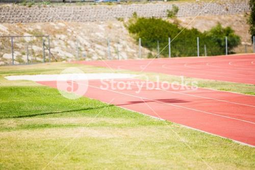 View of running track