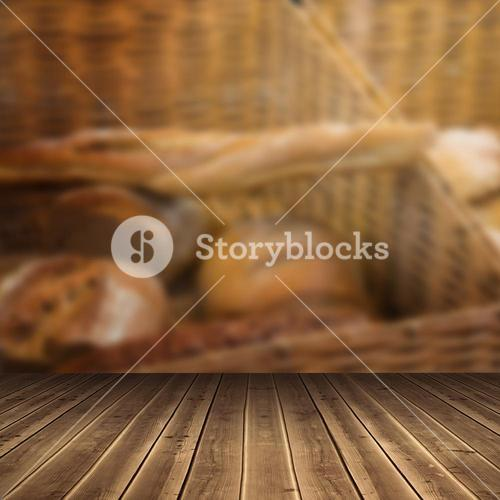Composite image of close-up of wooden flooring