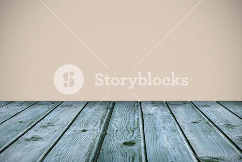 Composite image of wooden planks