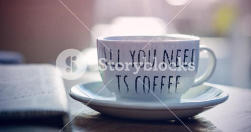 Composite image of all you need is coffee