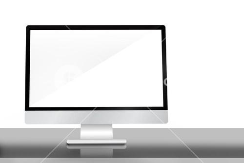 Image of a desk with computer