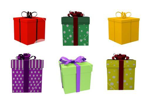 Composite image of gift