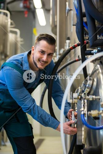 Maintained worker working at brewery