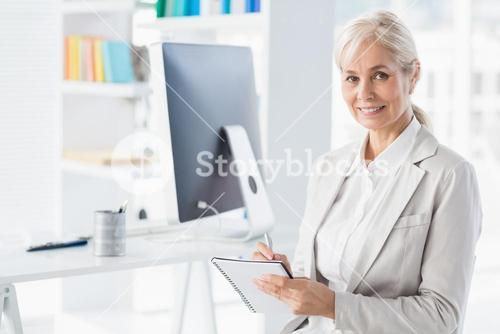 Portrait of smiling therapist