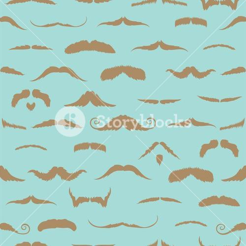 Focus on different mustaches