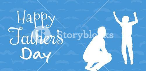 Composite image of happy fathers day