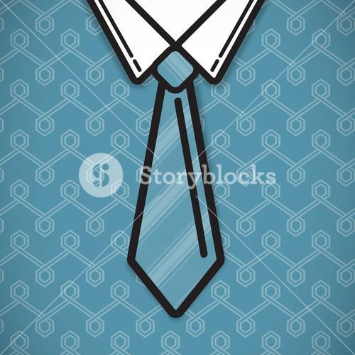 Composite image of shirt and tie