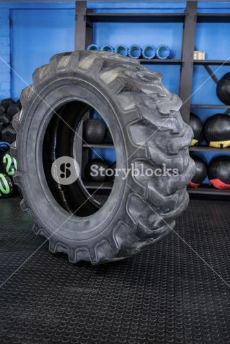 Tire in gym