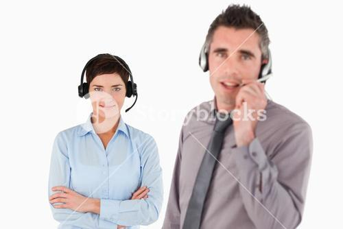 Isolated managers using headsets