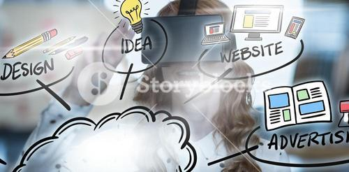 Composite image of business ideas