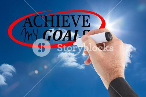 achieve my goals graphic