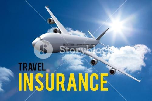 airplane travel insurance graphic