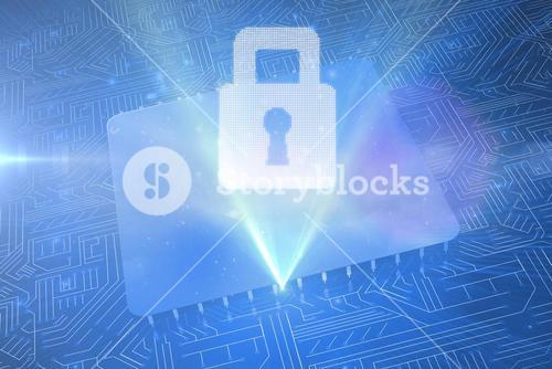 lock graphic