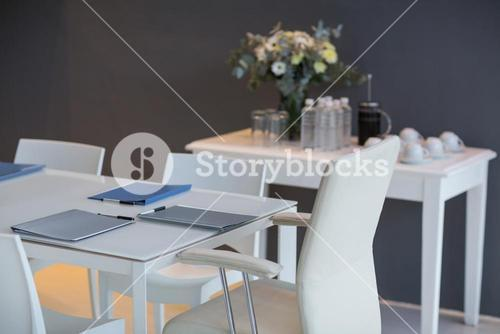 Files kept on table